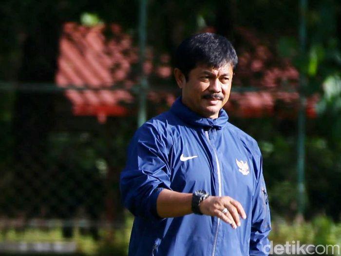 Pelatih timnas Indonesia U-19, Indra Sjafri (Foto: Grandyos Zafna/detikcom)
