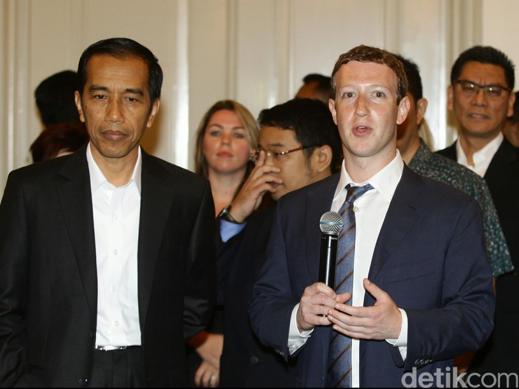 Jokowi akan Sambangi Markas Facebook, Google, Twitter