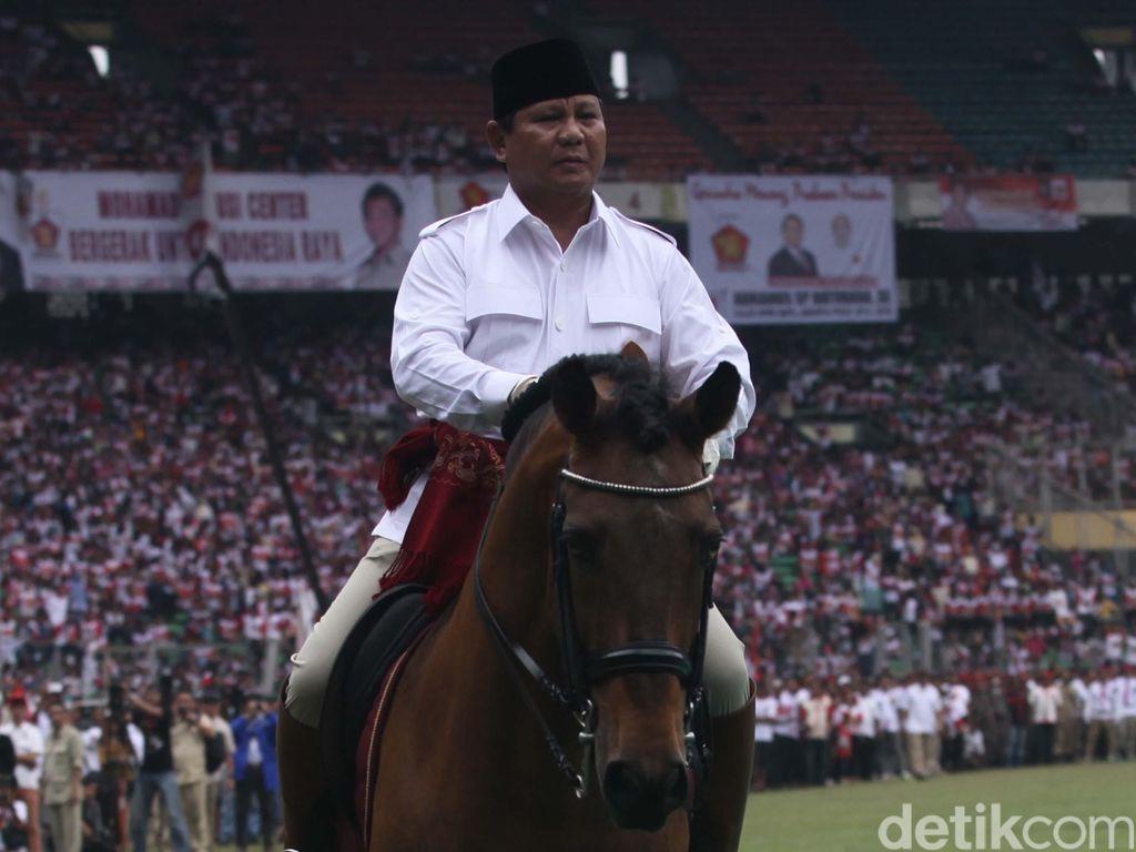 Prabowo Subianto Rayakan Ulang Tahun Ke-69 di AS