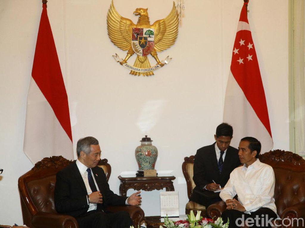 Bertemu Jokowi, PM Singapura Bidik Proyek Listrik 35.000 MW