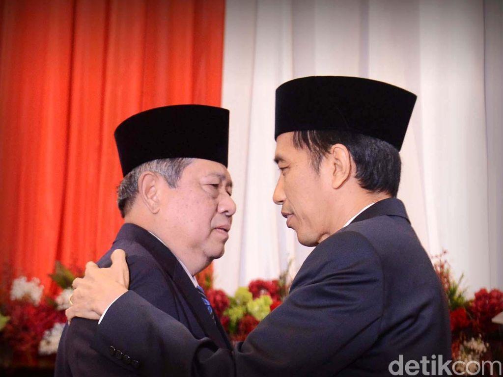 Kini Saling Puji, Ini Berbagai Momen Kehangatan Jokowi-SBY