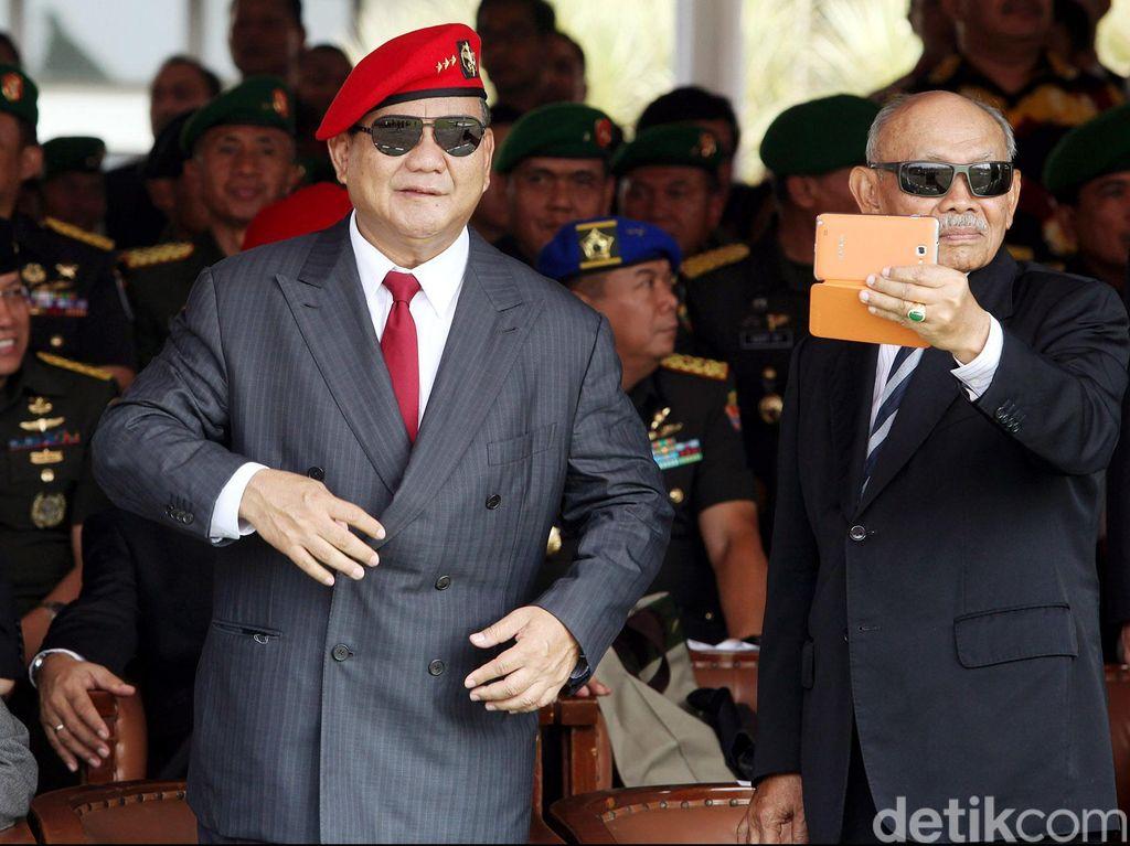 Prabowo Ungkap Pengalaman Dirinya Ditempeleng Komandan