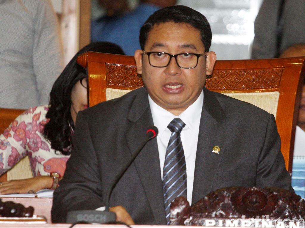 Setya Novanto Mundur, Fadli Zon Jabat Plt Ketua DPR