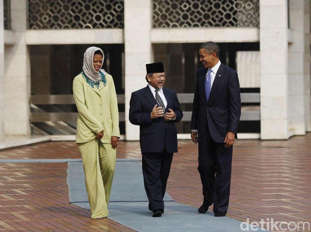 5 Tokoh Dunia dan Cerita Kunjungannya ke Masjid Istiqlal