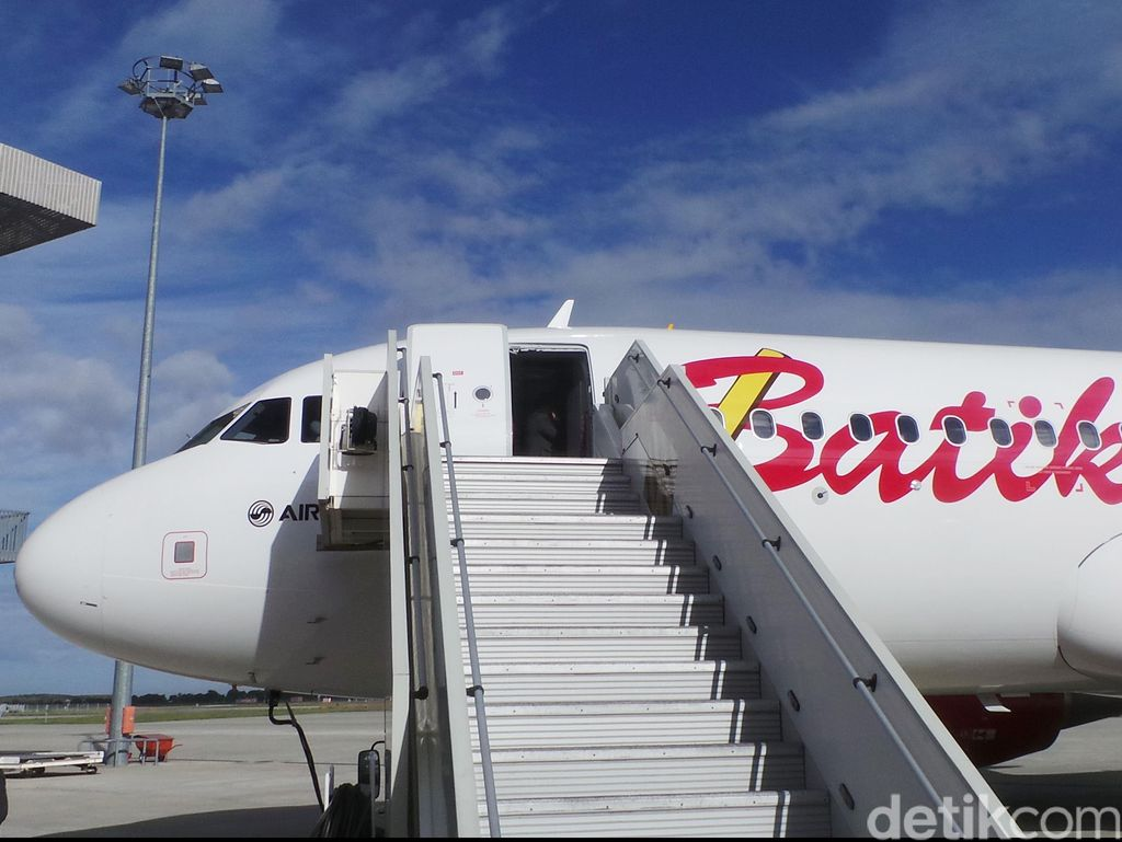 Pesawat Jakarta-Semarang Mendarat di Solo, Ini Penjelasan Batik Air