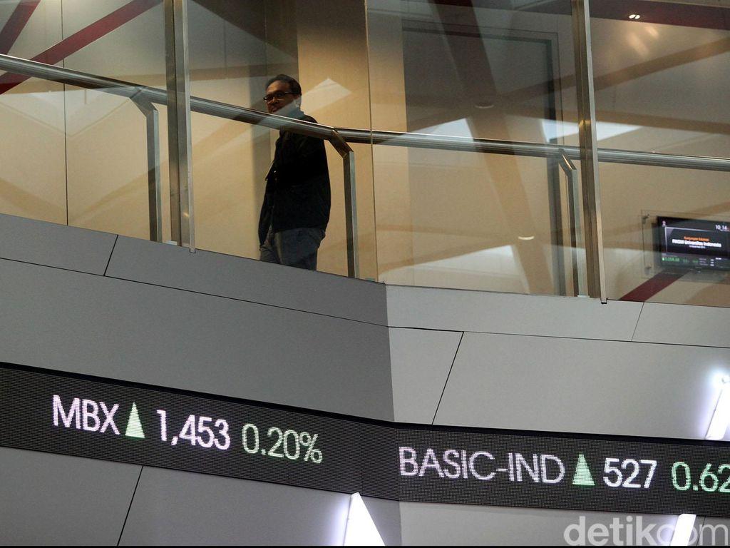 Bursa Global Berguguran, IHSG Melemah ke 5.841