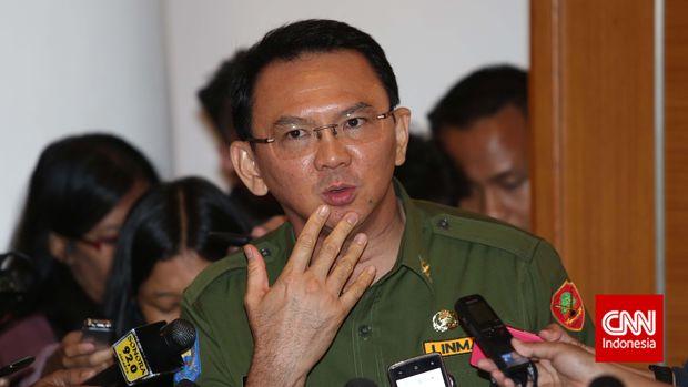 Eks Gubernur DKI Jakarta Basuki T Purnama alias Ahok.