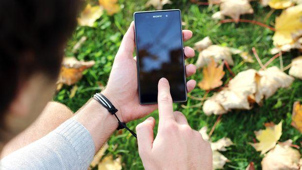 Ilustrasi Ponsel Sony Xperia