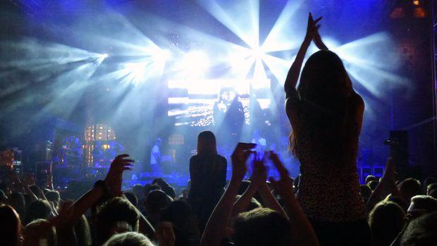 Ilustrasi konser musik