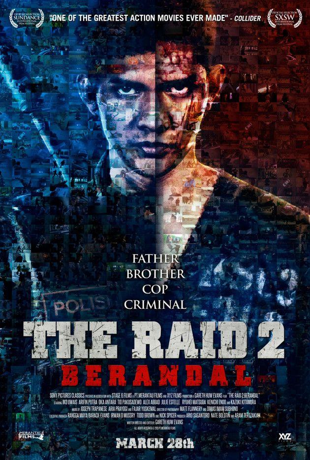 Poster The Raid 2: Berandal