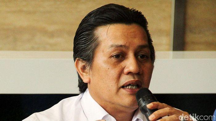 Anggota exco PSSI, Gusti Randa (Rengga Sancaya/detikSport)