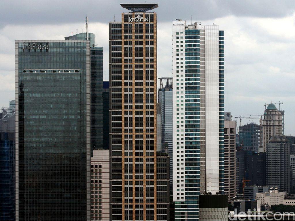 Makin Banyak Gedung Perkantoran Kosong di Jakarta