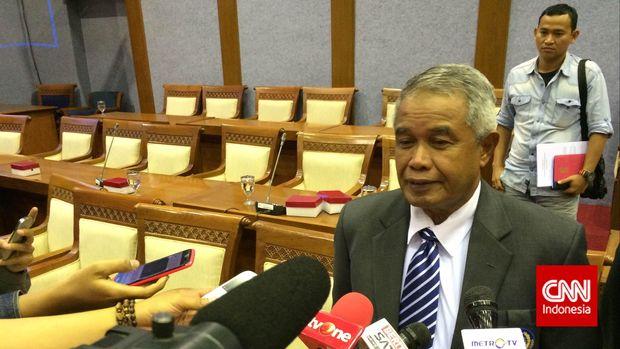 Djohar Arifin Husin terpilih sebagai Ketum pada Kongres Luar Biasa PSSI 2011. (
