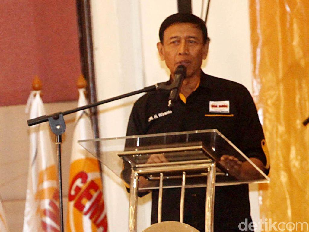 Hanura Pecah, Wiranto Ingatkan soal Pakta Integritas