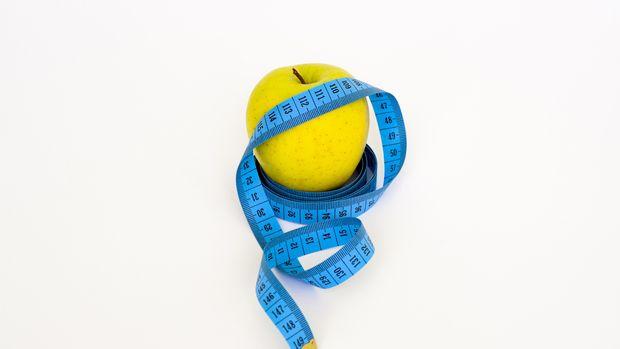 Ilustrasi Buah Apel Diet