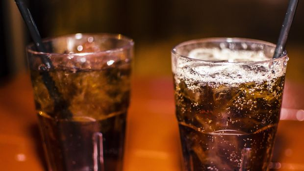 Ilustrasi Minuman Soda