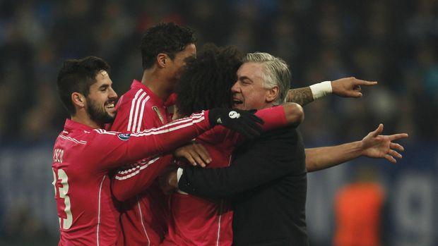 Ancelotti pernah meraih sukses bersama Ronaldo di Madrid.