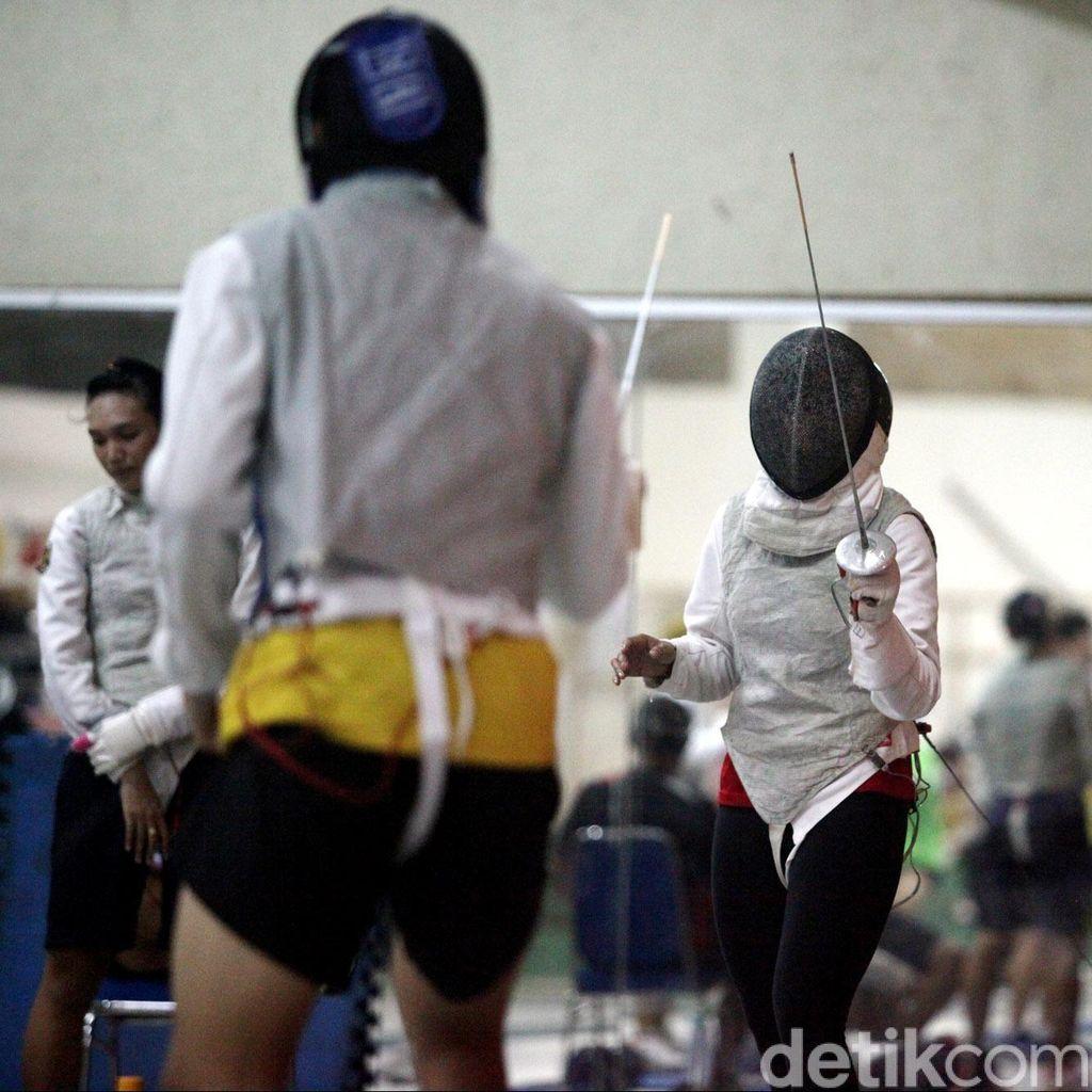 Tak Masuk Pelatnas Awal Desember, Atlet Anggar Latihan di Daerah Masing-Masing