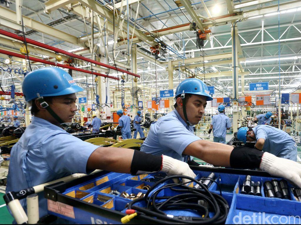 Industri Manufaktur Tumbuh 4,74%, Terendah Sejak 2013
