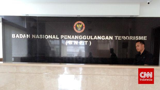 Kantor Badan Nasional Penanggulangan Terorisme (BNPT) di Sentul, Bogor, Jawa Barat. (CNN Indonesia/Rosmiyati Dewi Kandi)