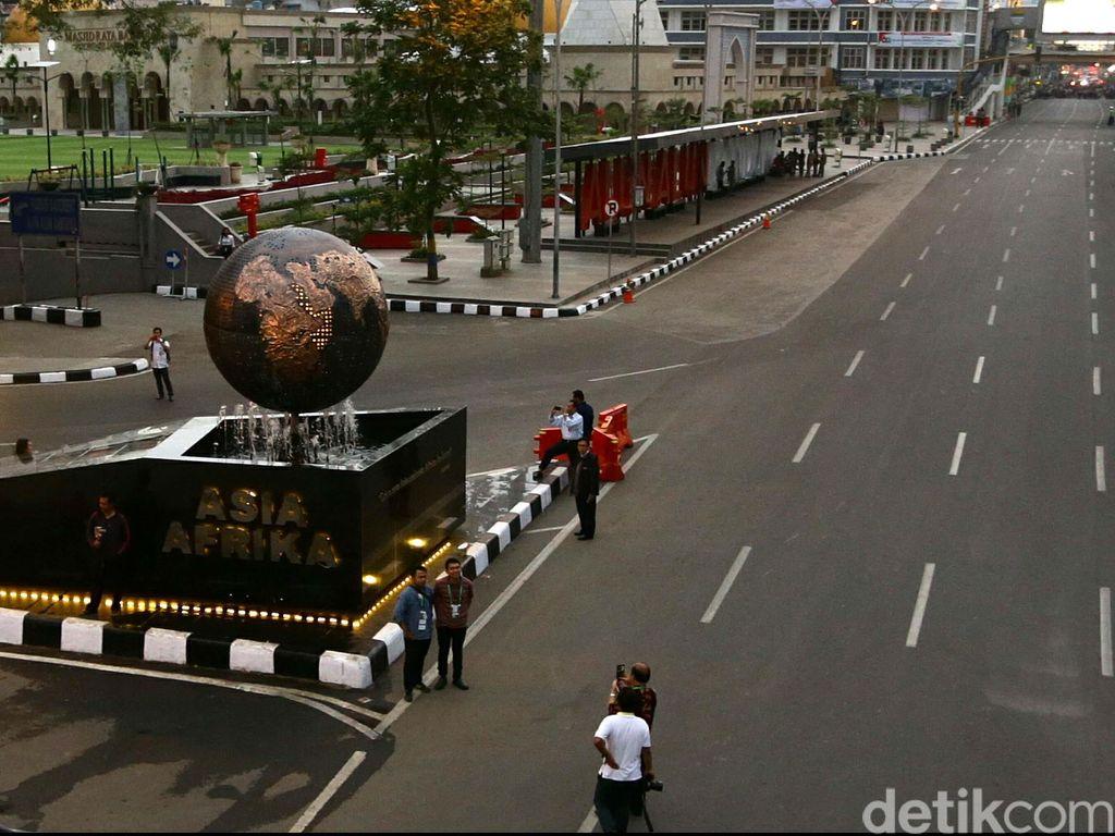 Ada Perayaan Pramuka, Sore Ini Jalan Asia Afrika Bandung Ditutup
