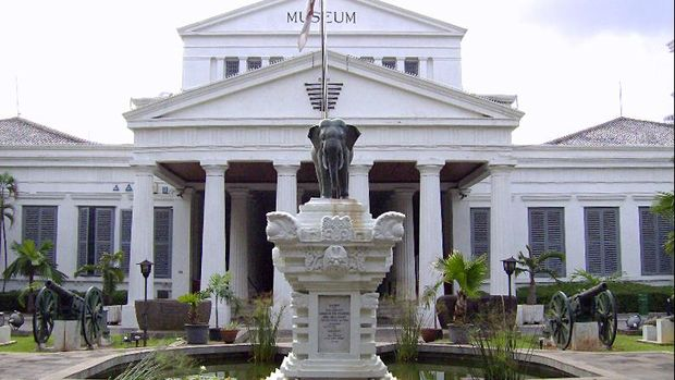 Museum Nasional sudah mengalami pencurian yang fenomenal beberapa kali.