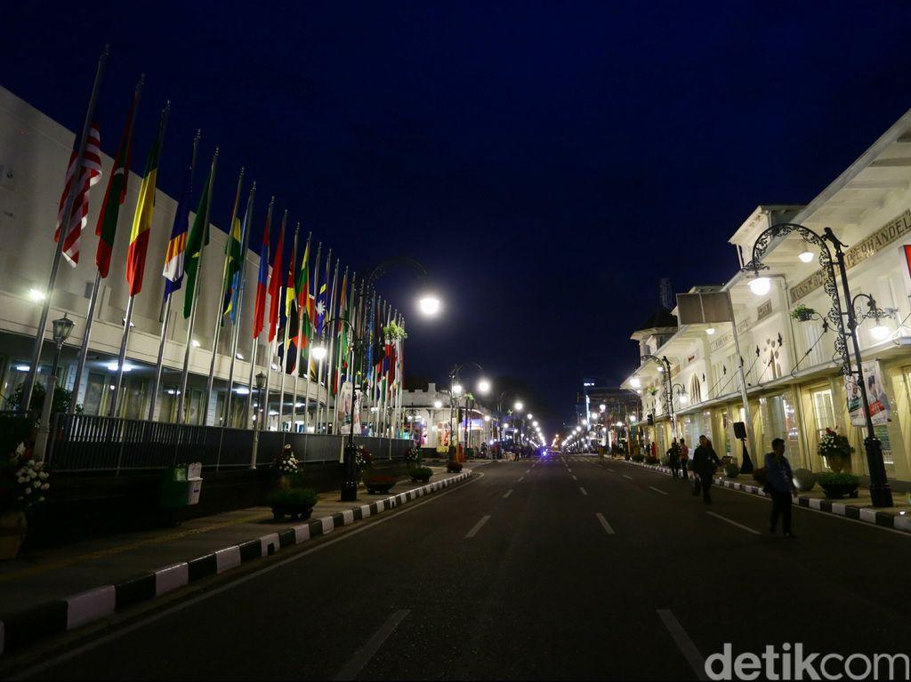 Malam Tahun Baru, Polisi akan Tutup Jalan Asia Afrika Bandung