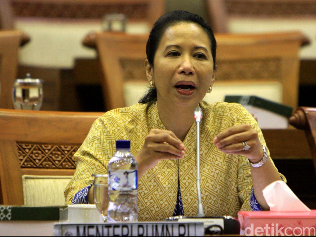 Rini Cerita Alasan Jokowi Turunkan Target Listrik 35.000 MW