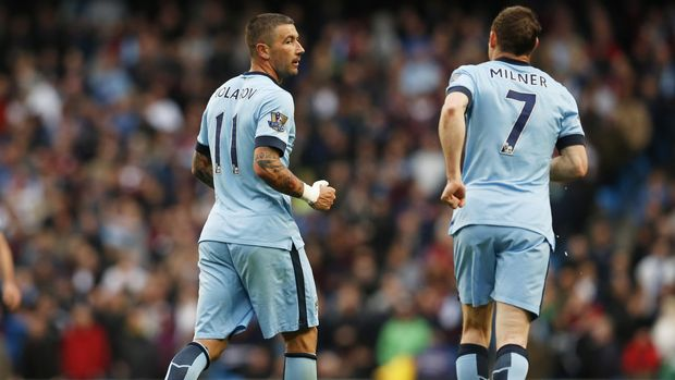 James Milner saat masih berseragam Manchester City