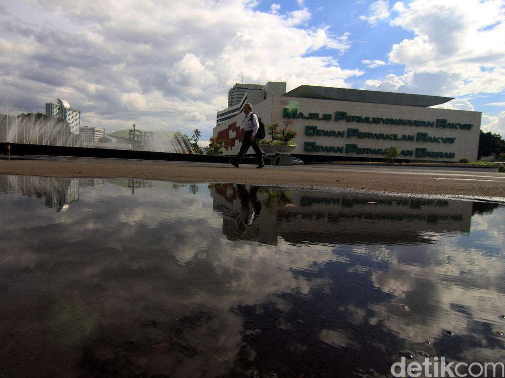 DPR Belum Diizinkan Jokowi Bangun Gedung Baru
