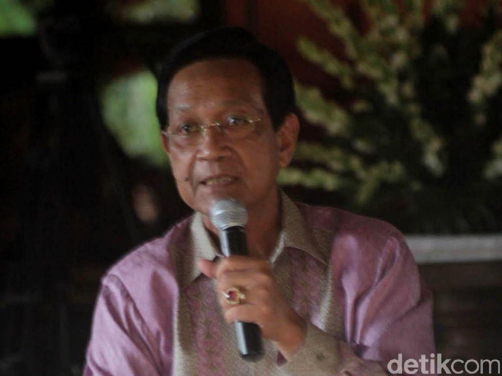 Sultan HB X Tanggapi Positif JOINT, Penjaring Cawalkot Yogyakarta Independen