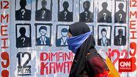 Pegiat HAM senantiasa menagih pengusutan kasus penghilangan aktivis 1997-1998 meski sudah terjadi puluhan tahun yang lalu