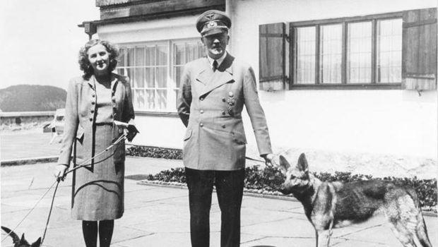 Eva Braun dan Adolf Hitler