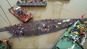 Kapal Pesiar China Tenggelam, Sudah 406 Jasad Ditemukan
