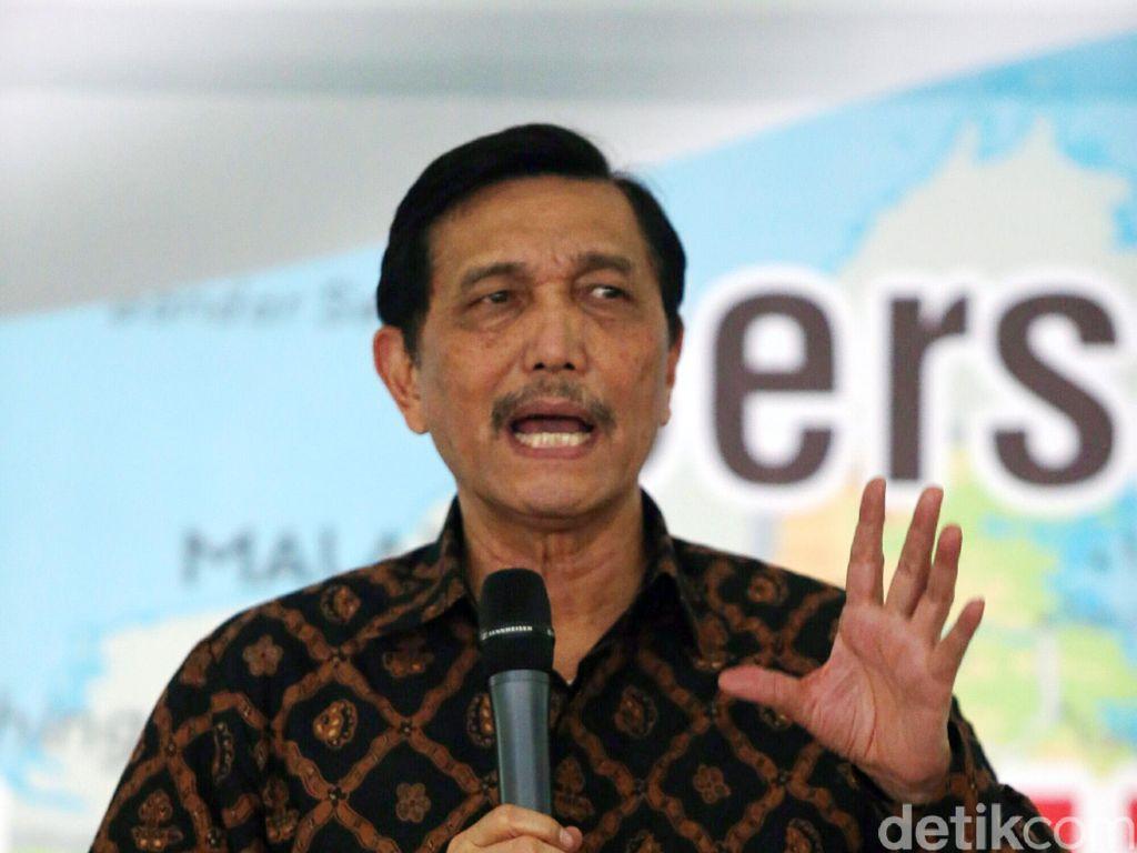 RI Ikut Konvensi Perlindungan Laut, Luhut: Indonesia Itu Super Power