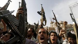 Arab Saudi Gagalkan Serangan Rudal Balistik Pemberontak Houthi
