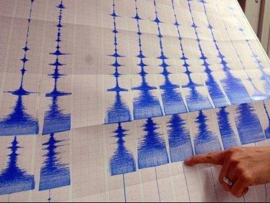 2 Kali Gempa Terjadi di Lombok Utara, Terasa hingga Bali