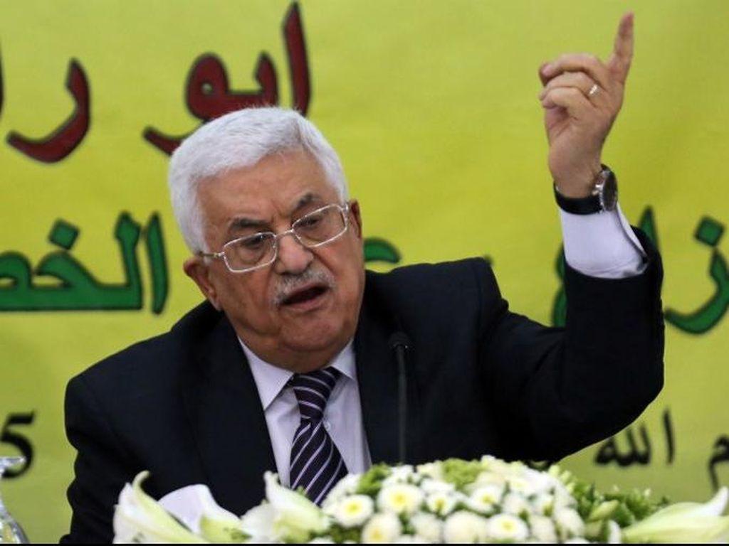 Abbas Sebut Hamas Dalangi Serangan Bom terhadap PM Palestina