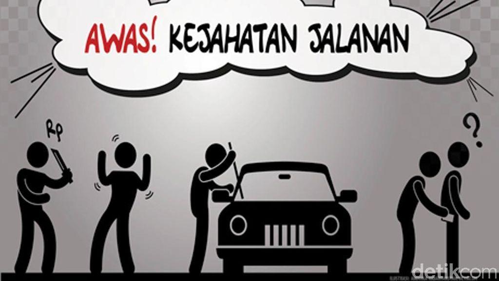 Polisi Bekuk Penjambret yang Tewaskan Wanita di Medan