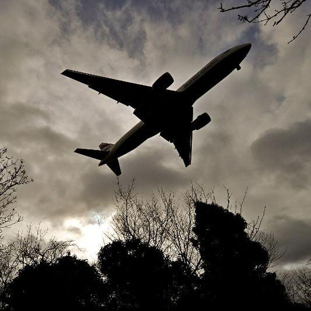100 Penerbangan di London Batal karena Awan dan Kabut Dingin