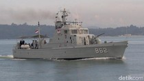 Dua Kapal Perang Diberangkatkan ke Banjarmasin untuk Korban Asap Malam Ini