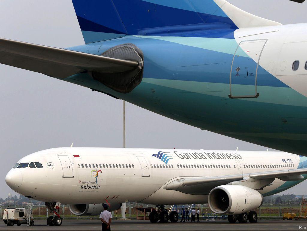 Garuda Bahas Kenaikan Tarif Pesawat Bareng Kemenhub