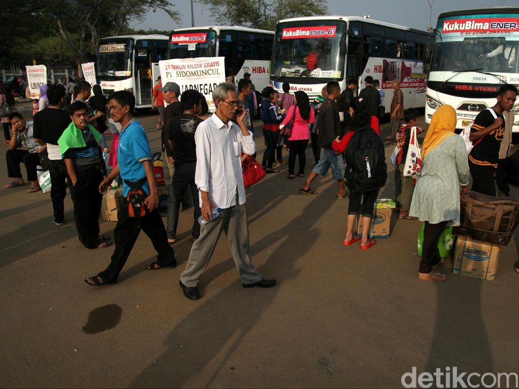 Catat! Ini Lokasi Pendaftaran Langsung Mudik Gratis Kemenhub dengan Bus