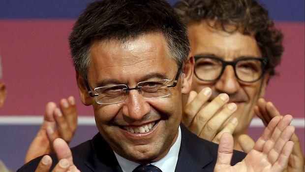 Presiden Barcelona Josep Maria Bartomeu mengklarifikasi perekrutan Griezmann dari Atletico Madrid. (