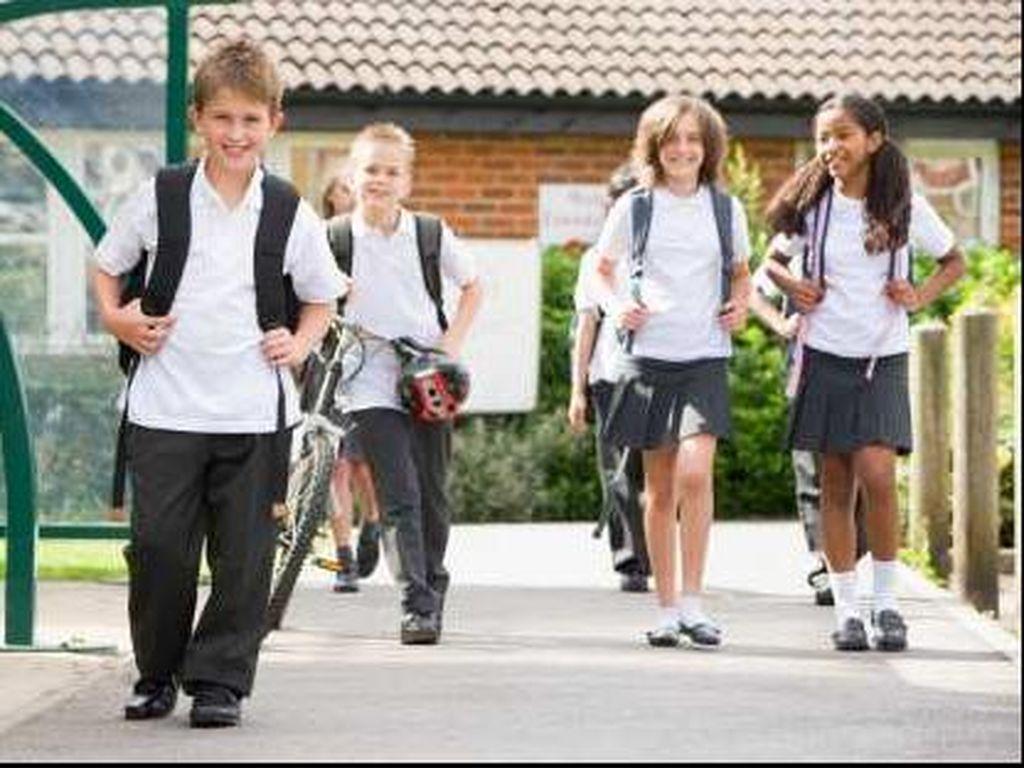 SDN Gunungsari 4 Kota Batu Gelar Belajar di Sekolah Karena Susah Sinyal