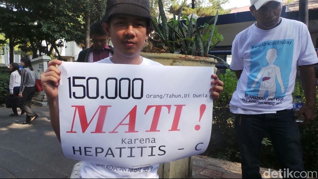 Foto-foto: Koalisi LSM Serukan Akses Obat Murah untuk Hepatitis