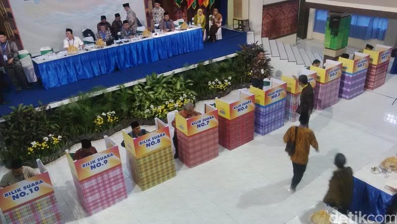 Begini Suasana Pemilihan 39 dari 82 Calon Ketua Umum Muhammadiyah