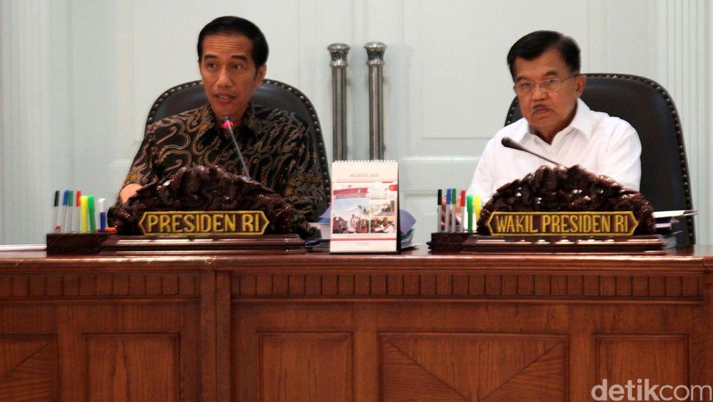 Jokowi Pimpin Rapat untuk 3 Proyek LRT
