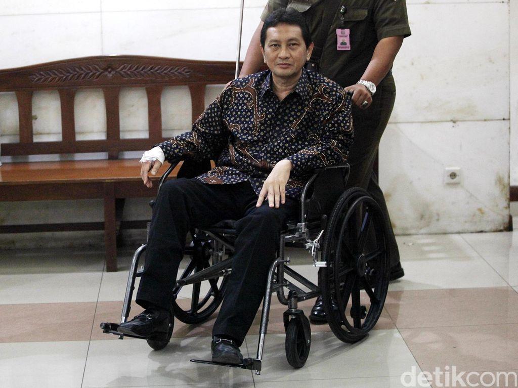 PK Udar Pristono Ditolak di Kasus Pencucian Uang Korupsi Bus TransJ