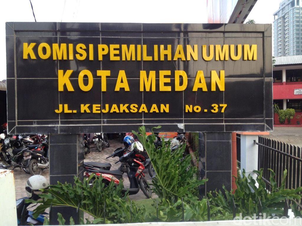 Pendaftaran Cawalkot Medan Penuhi Syarat, KPU Lanjut Verifikasi Berkas